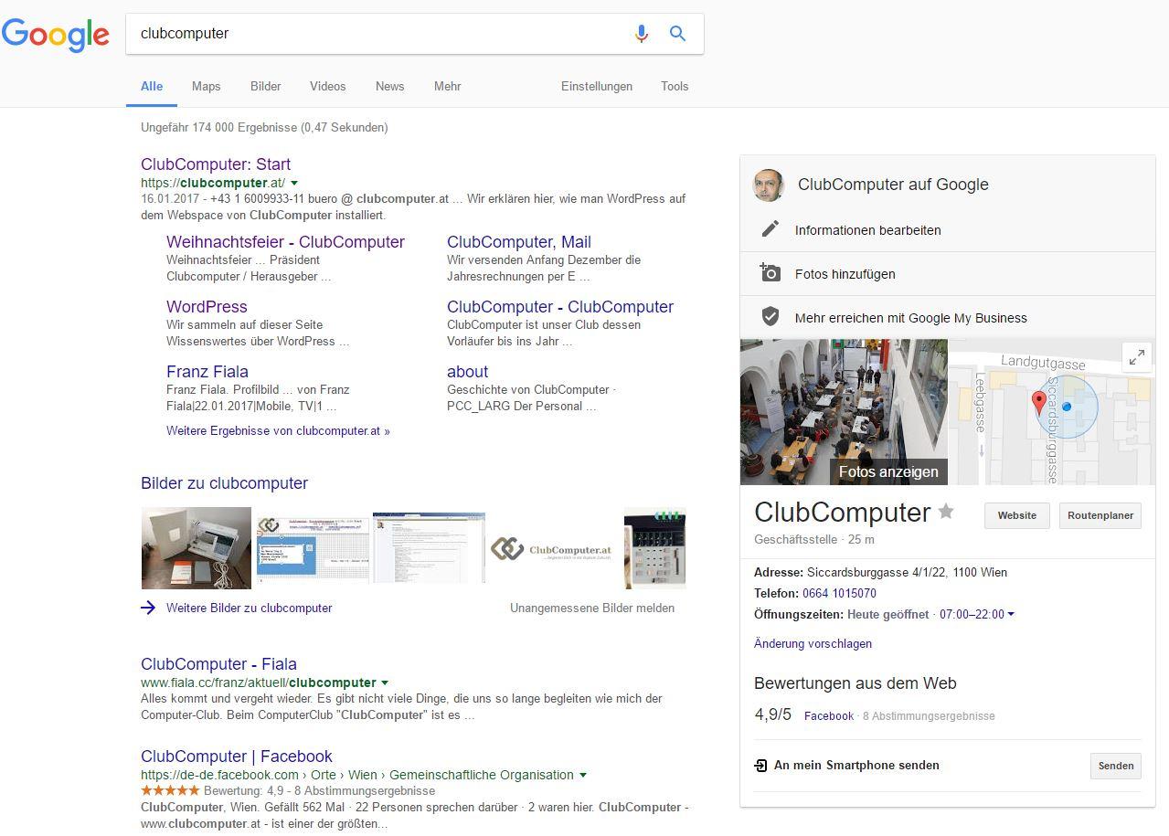 Dein Projekt auf Google Business