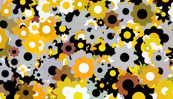 Blumen mit JavaScript zeichnen
