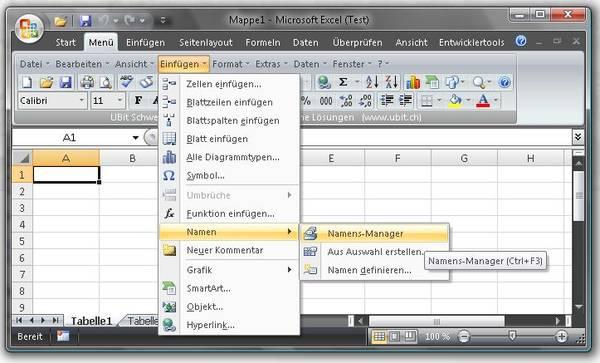 Klassisches Menü im neuen Office 2007 / 2010 / 2013 / 2016