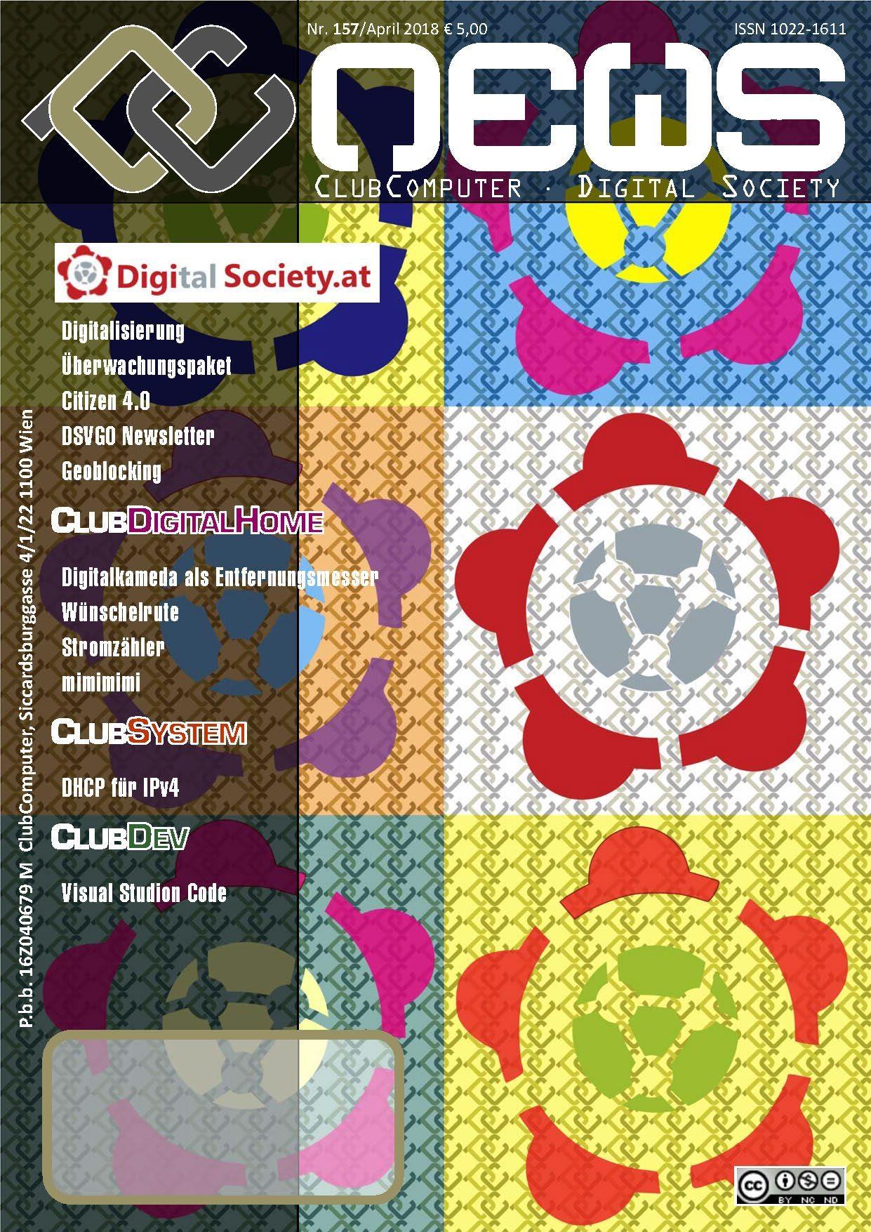 """PCNEWS-157 """"Digital Society"""""""