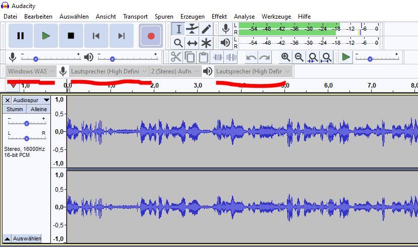 Audio-Mitschnitt