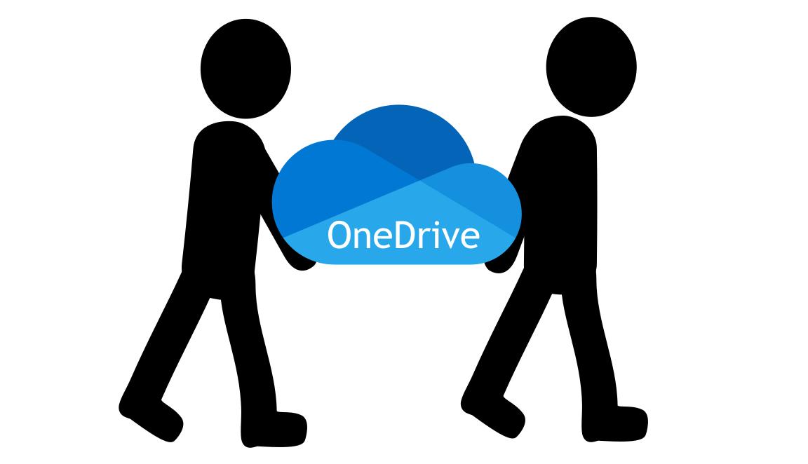 OneDrive übersiedeln