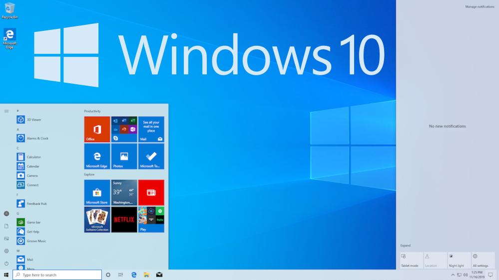 Das Betriebssystem Microsoft Windows 10